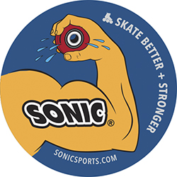 Sonic Bicep Sticker